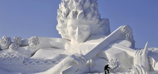 Beautiful Snow sculptures