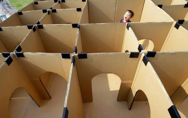DIY Toys made with Cardboard