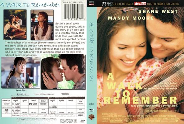 Extremly emotional movies - A Walk to Remember