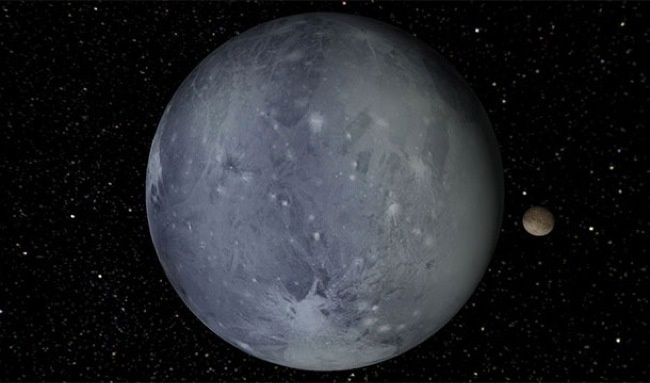 Surface area of Pluto is lesser than Russia
