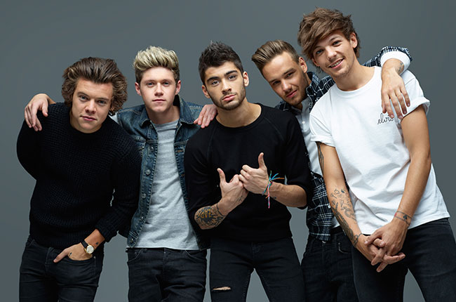 Highest Paid Celebrities of 2015 - One Direction