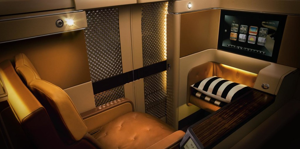 Most Luxurious Airline Seats - Etihad Airways Diamond First Class Seat