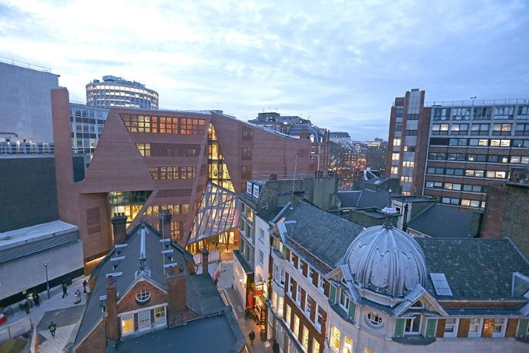 Most beautiful college buildings - The London School of Economics Saw Swee Hock Student Centre