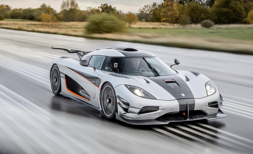 Most expensive cars - Koenigsegg One 1