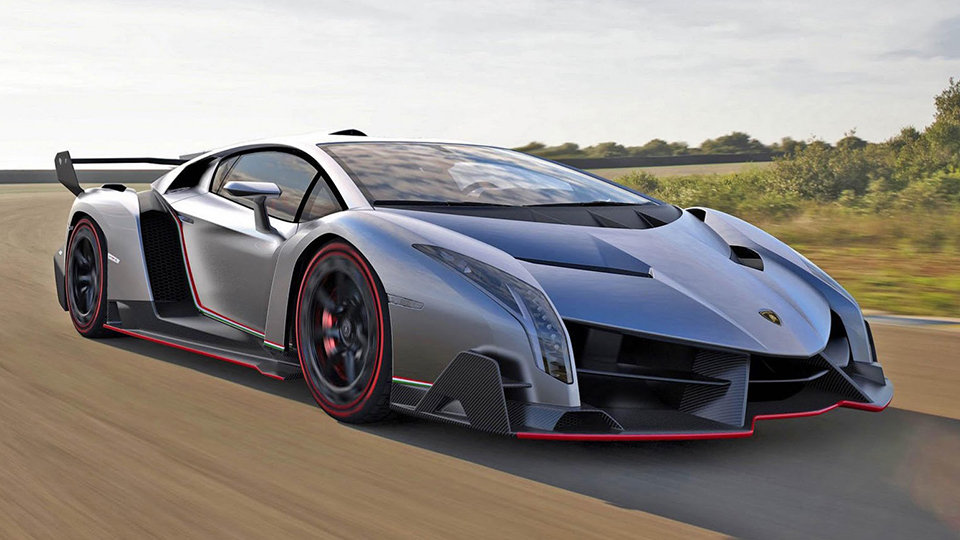 Most expensive cars - Lamborghini Veneno
