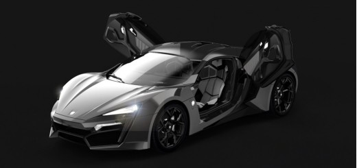Most expensive cars - W Motors Lykan Hypersport