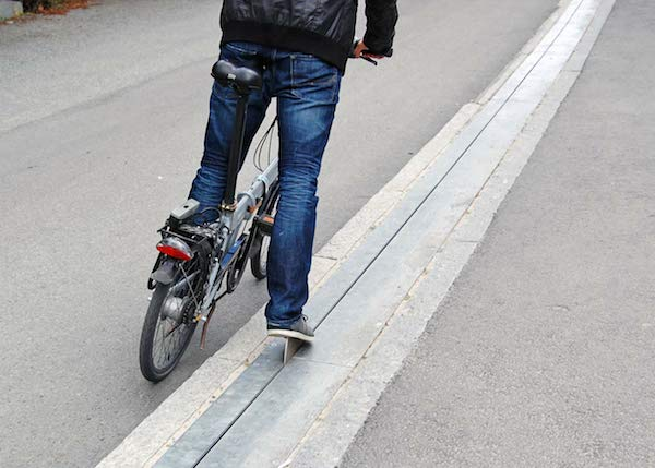 World's First Bike Escalator In Norway