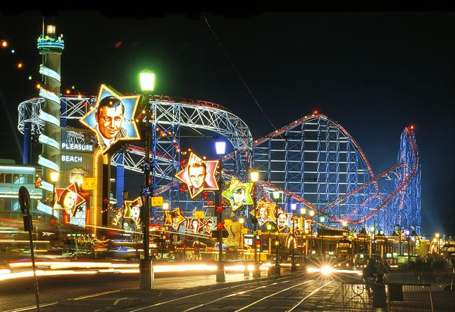 bes amusment parks from around the world - Blackpool Pleasure Beach, Lancashire, United Kingdom
