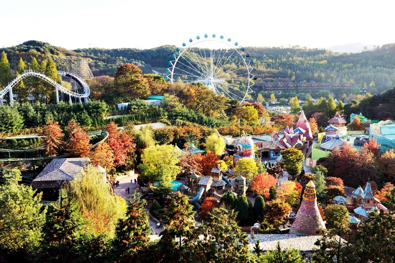 bes amusment parks from around the world - Everland, Yongin, South Korea
