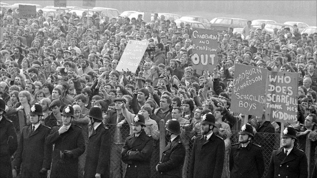 most momentous protests in history - The Miners Strike