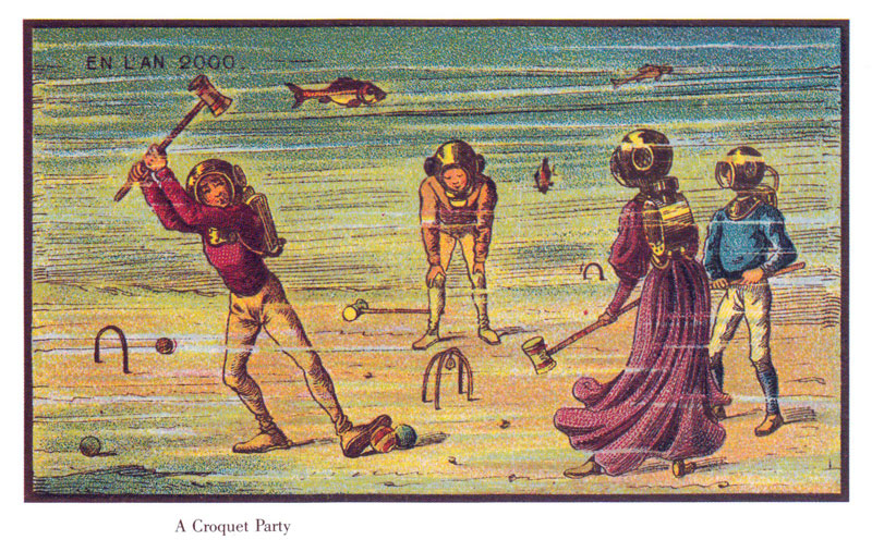 100 years ago French artists predicted year 2000