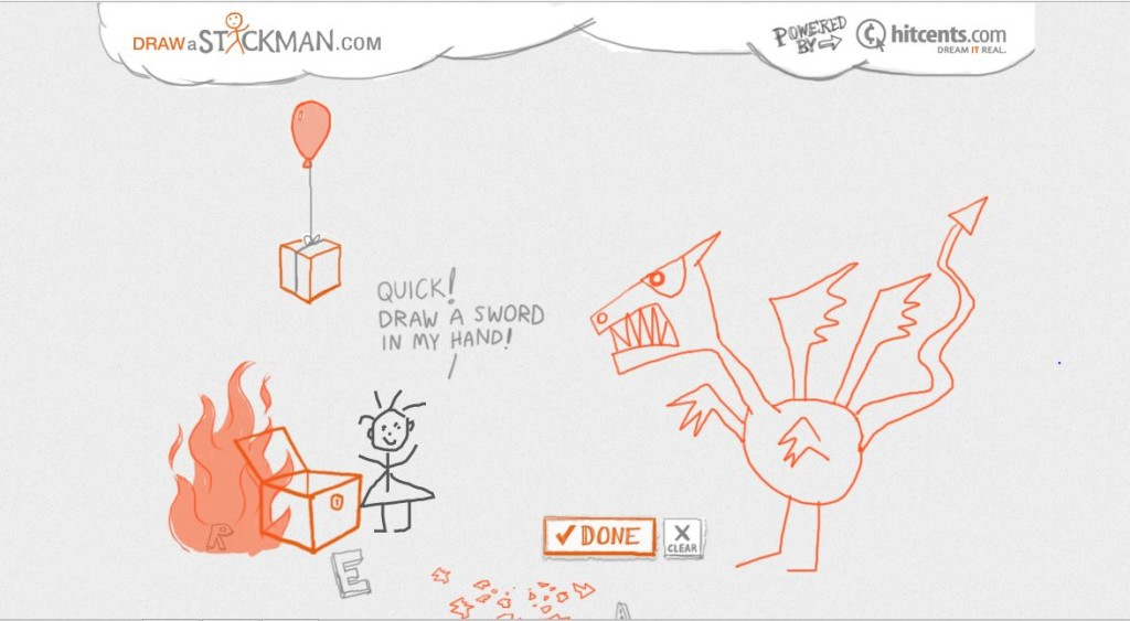 Addictive websites to loose track of time - Draw A Stickman