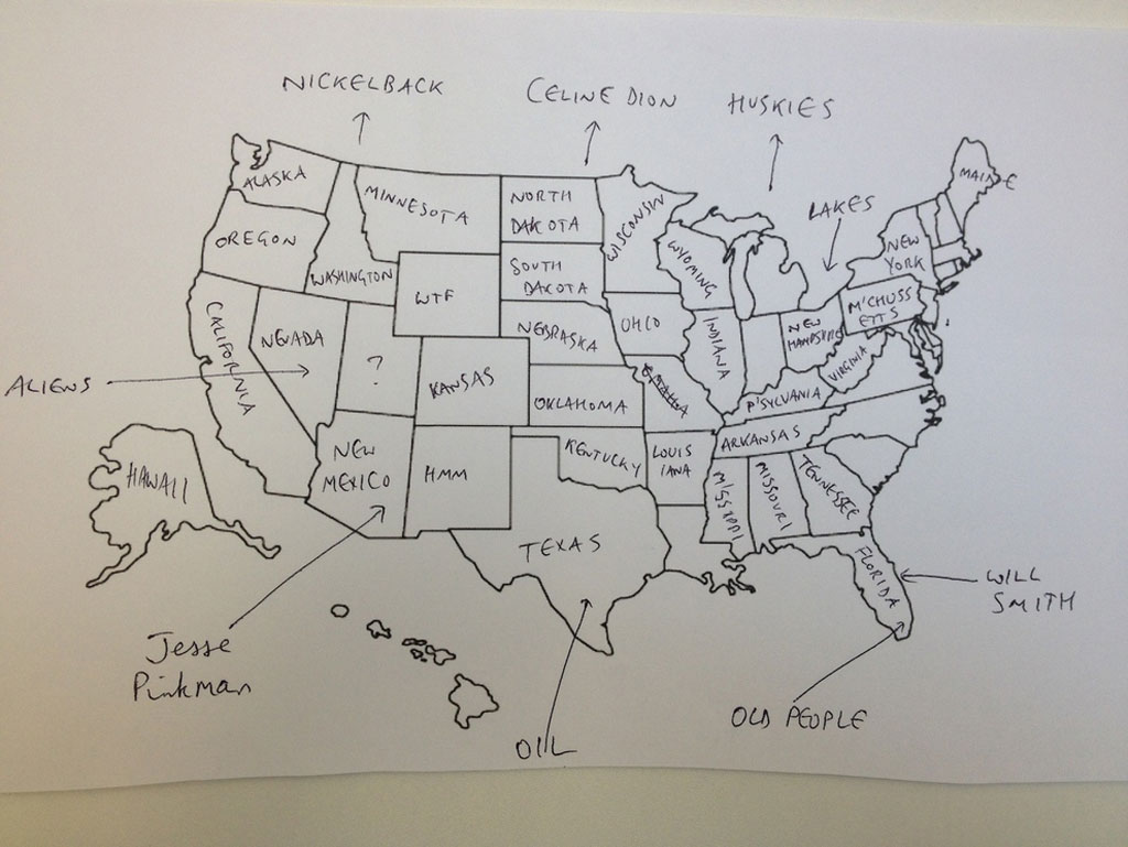 British Students Mark Map Of America (6)