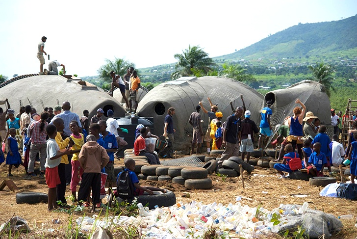 Communities Living In Harmony With Nature - Earthships