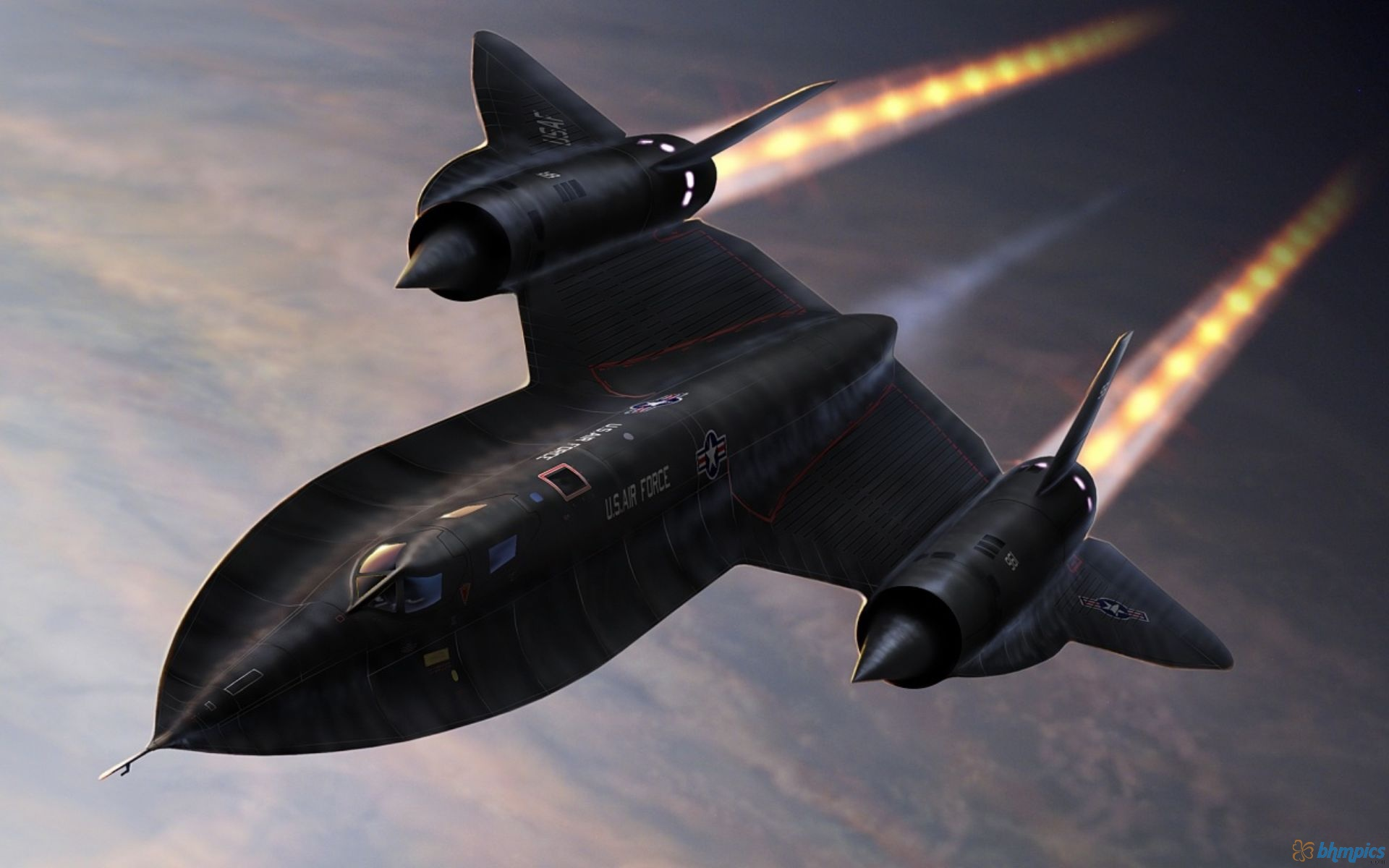 Fastest Aircrafts - Lockheed SR-71 Blackbird