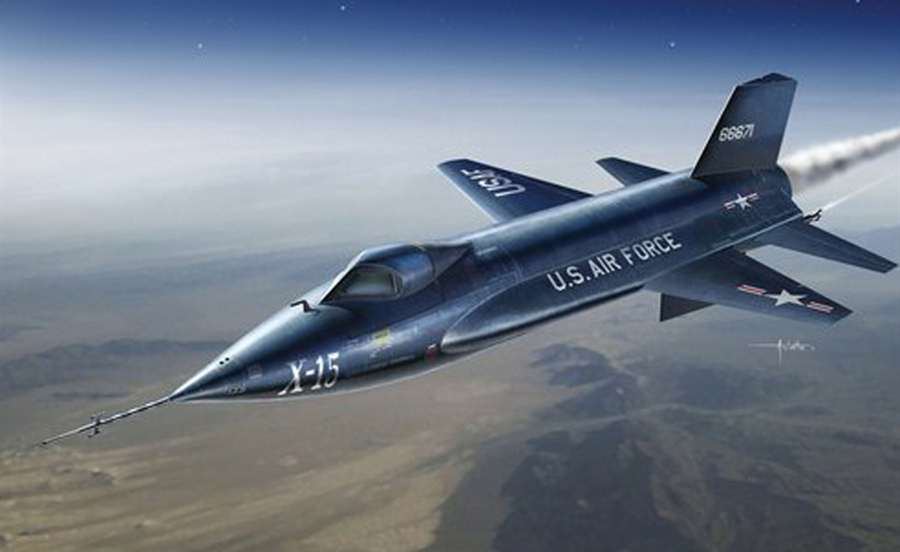 Fastest Aircrafts - North American X-15