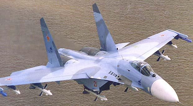 Fastest Aircrafts - Sukhoi Su-27 Flanker