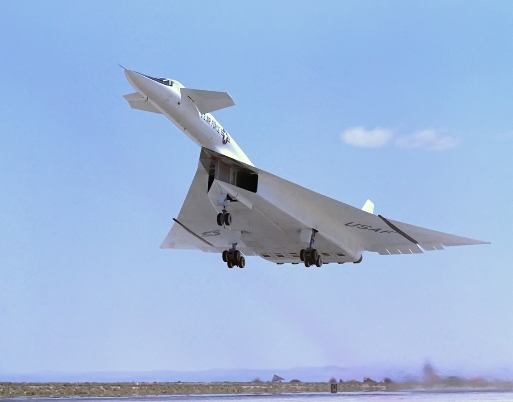 Fastest Aircrafts - XB-70 Valkyrie