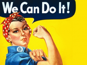 Fictional Characters that affected real world - Rosie the Riveter