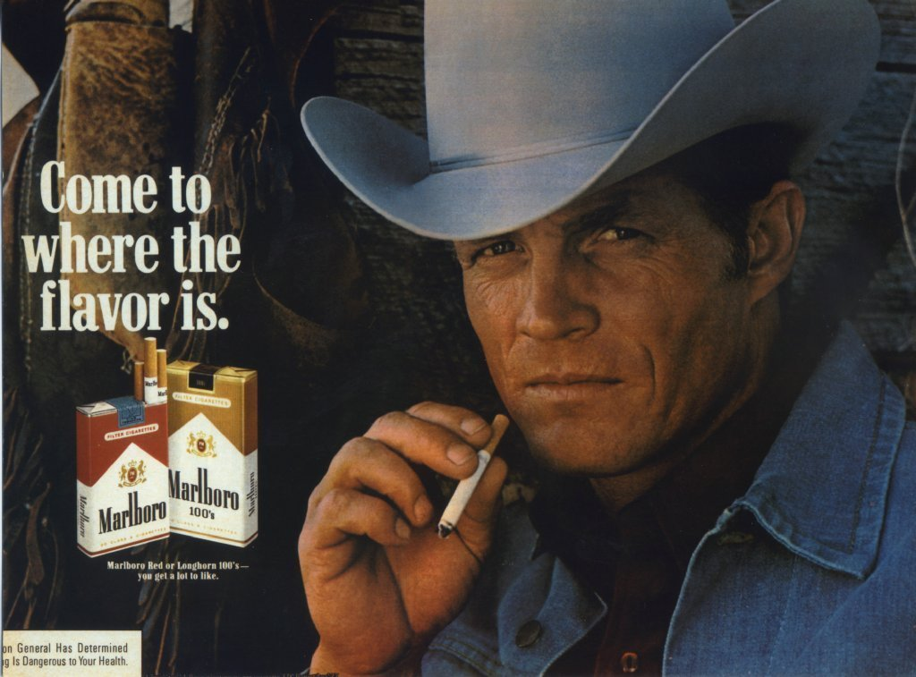 Fictional Characters that affected real world - The Marlboro Man