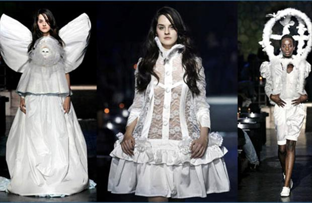 19 Most Ugly Wedding Dresses, ugliest wedding dresses, horrible wedding outfits, funny wedding dresses