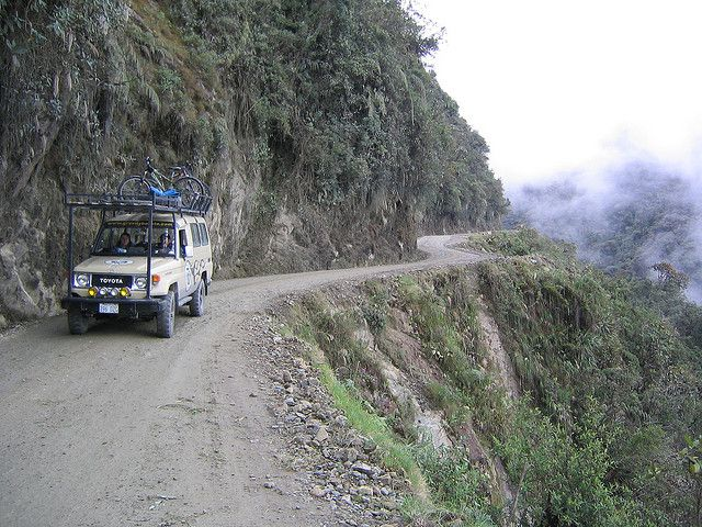 Most Dangerous Roads - North Yungas Road, Bolivia