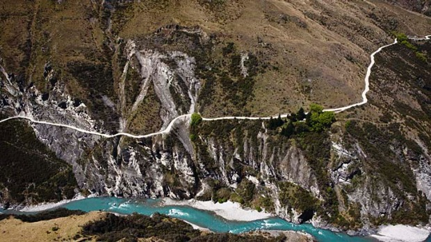 Most Dangerous Roads - Skippers Canyon Road, New Zealand