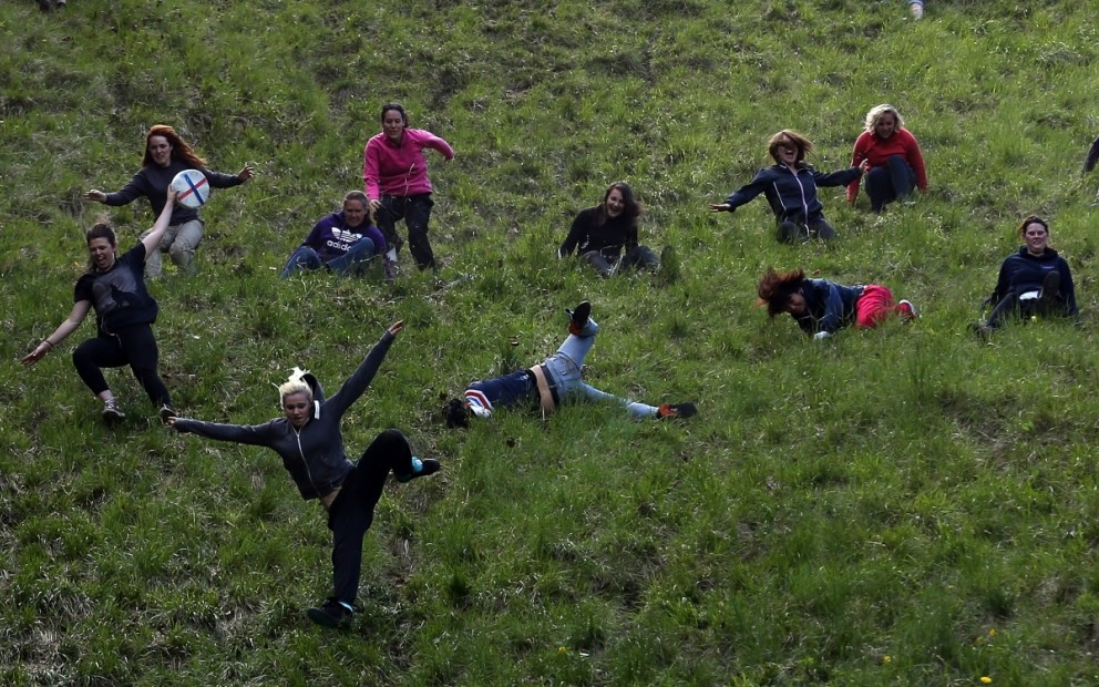 Most Dangerous Sports - Cheese Rolling