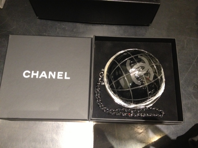 Ridiculously Expensive Guests - Globe Clutch
