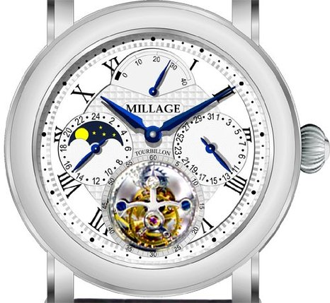 Ridiculously Expensive Guests - Millage Flying Tourbillon Watch