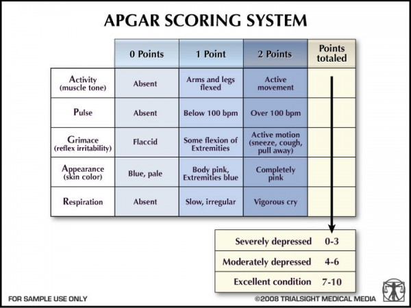 Surprising Things Invented By Women - Apgar Scoring System