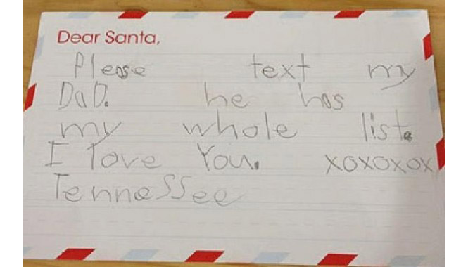 Letter to Santa Claus