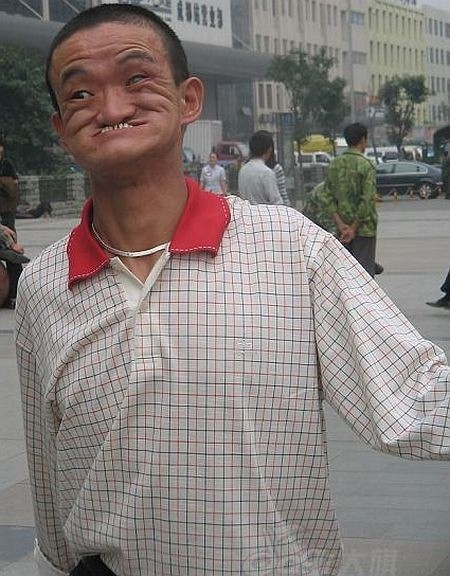 Weird expressions by people, ugliest photos