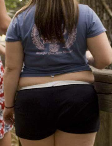 funny fat women photographs