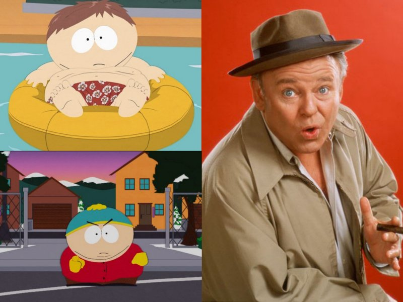 Inspirations for Animated Characters - Archie Bunker (Eric Cartman)
