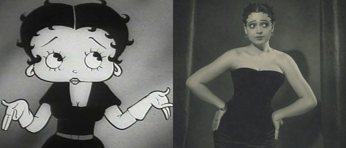 Inspirations for Animated Characters - Helen Kane (Betty Boop)