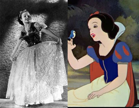 Inspirations for Animated Characters - Marge Belcher Champion (Snow White)