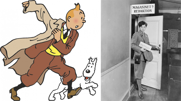 Inspirations for Animated Characters - Palle Huld (Tintin)