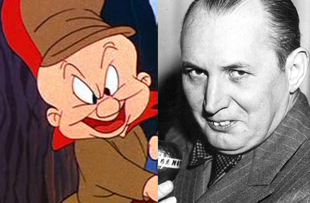 Inspirations for Animated Characters - Robert Ripley (Elmer Fudd)