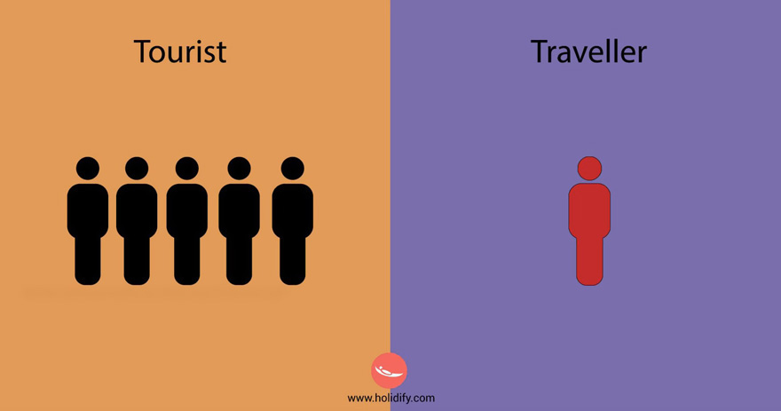 Tourists vs Travelers