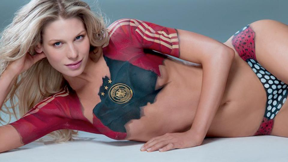 Body painting, Superwomen