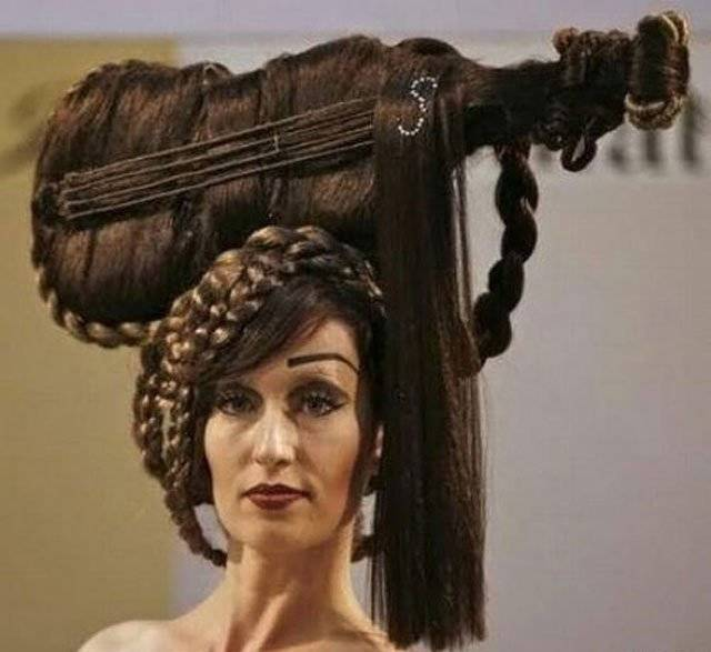 craziness, craziness overloaded, creepy hairstyles