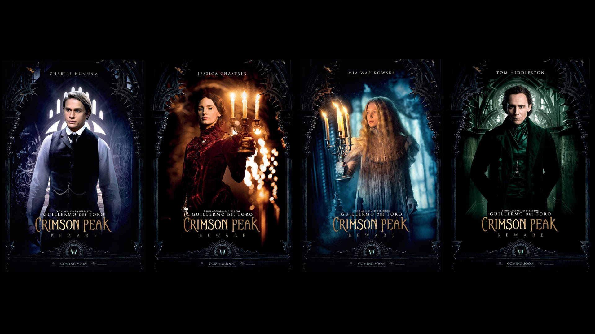 Crimson Peak, horror movies 2015