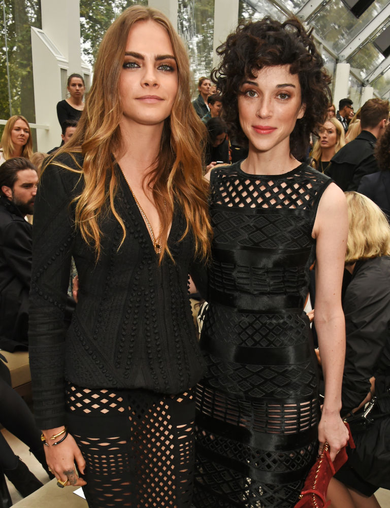 Cara Delevingne and St. Vincent