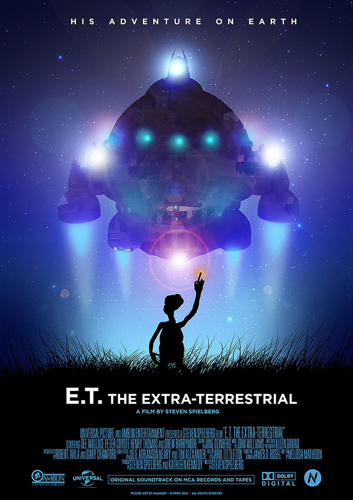 ET movie, ET movie poster
