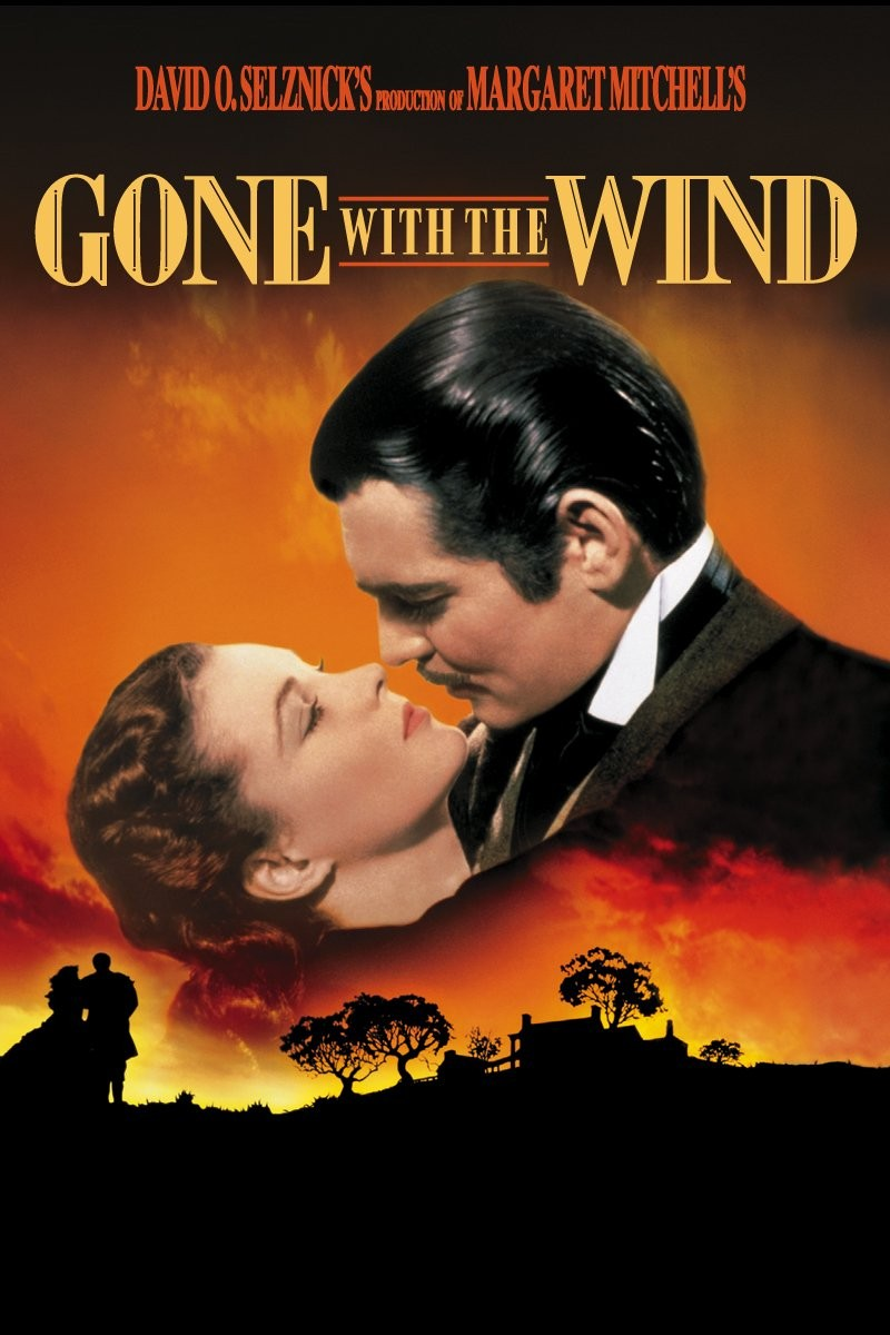 Gone with the wind, hollywood movies, movie posters, best movie posters