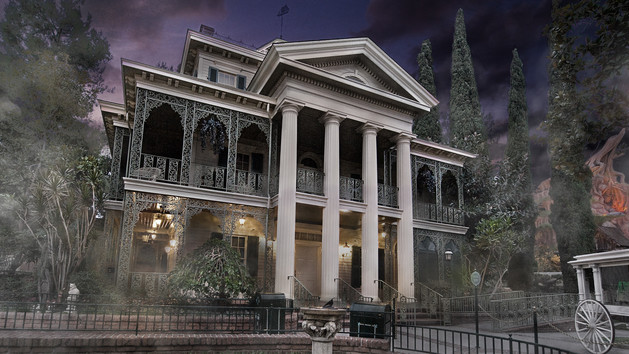 Haunted house, haunted mansion