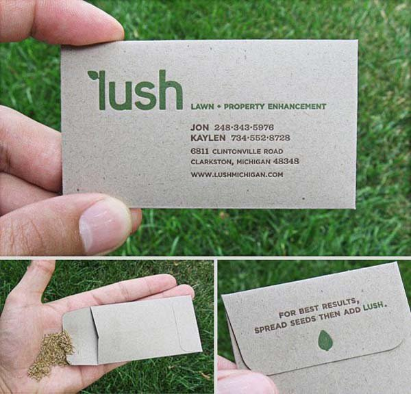 Creative business cards, Interesting Business Cards