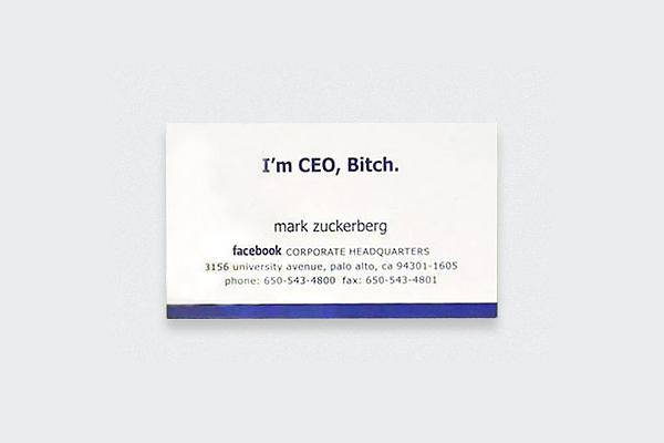 Mark-Zuckerberg, Mark-Zuckerberg business card