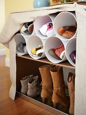 storing shoes, shoe storage
